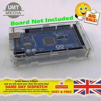 Arduino MEGA 2560 Acrylic Case Enclosure Shell Transparent Clear Computer Box