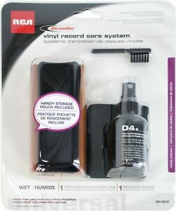Discwasher Vinyl Record Album Cleaning Kit with Pad, Brush and Fluid #RD1007Z