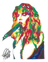 FLEETWOOD MAC Minimalist Music Poster Posteritty Minimal Stevie Nicks Rumours