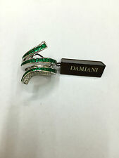 Anello Damiani Eden 20037230 diamanti e smeraldi ring diamond emerald serpente
