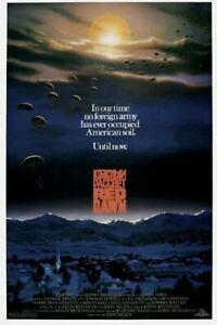 Red Dawn Art Print Mini Movie Poster 13x19 Professional High Quality Glossy