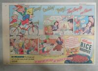 Kellogg's Cereal Ad: Snap! Crackle! and Pop! from 1946 Size: 7 x 10 inches