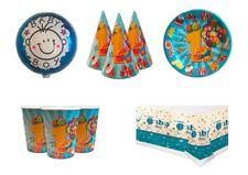 kit primo compleanno bicchieri piatti tovaglia coni palloncini bambino festa