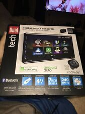 "Dual Tech Digital Media Bluetooth Touch 7"" Screen Stereo Receiver XDCPA9BT"
