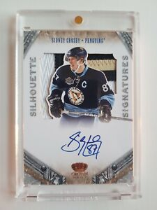 Sidney Crosby 2011-12 Crown Royale Silhouette Patch Autograph 03/25