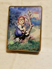 M.J. Hummel Apple Tree Girl Hummel Collectors Stationary Tin 141