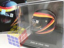 Emilio de Villota temporada 1982 - HELMET HELM CASCO F1 / F-1 (Escala 1/5) SPARK