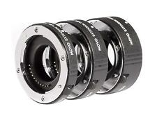 Movo AF Macro Extension Tube Set for Micro 4/3 Mount Mirrorless Camera System