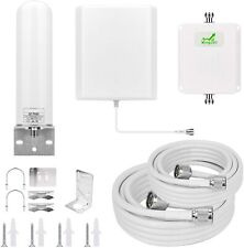 Mingcoll Cell Phone Signal Booster 3G 4G LTE 1700Mhz Band 4 Mobile Phone