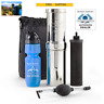 Go Berkey Kit Water Survival Purifier w Black Filter, Sport Berkey, Primer, Case