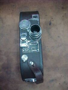 Keystone Model A-12 16mm movie camera
