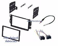 Double Din Stereo Kit Combo for some 2007-2011 Chevrolet Aveo 2009 Pontiac G3