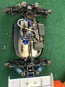 Kyosho MP10 TKI2 With Hop Ups And Spares 1/8th Buggy