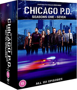 "CHICAGO PD COMPLETE SEASON 1-7 COLLECTION DVD BOX SET 40 DISCS ""NEW&SEALED"""