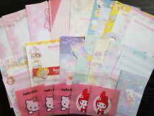 49pcs Kawaii Sanrio Stationery Memo Sheets Stickers【B】My Melody Letter Set