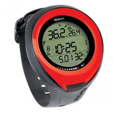 Mares Dive Computer for Scuba Wrist Watch Nitrox Diving  Puck Pro Red 4UK
