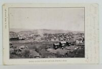 Saxton Pa as Seen from the Hill back of Kelly's Row 1908 Reedsville Postcard N9