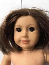 American Girl Doll Short Hair Dark Eyes Brunette Flaw
