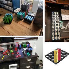 18,4 mm 18650 batería 4 x 5 Celular espaciador irradiando Shell Ev Pack Plástico Calor Titular