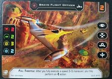 Star Wars X-Wing 2.0  - Alt Art Promo Card - Bravo flight Officer