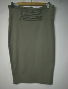 Bardot sage green pencil skirt.  Size 14. NWT  RRP $59.99