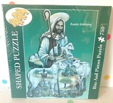 Bits and Pieces Shaped Puzzle The Good Shepherd 750 Pieces Brand New!