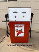 1970's TEXACO FIRE CHIEF Tokheim Dual Gas Pump - Mancave / Garage Decor