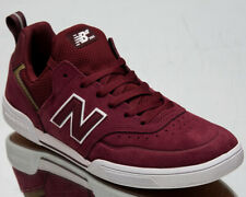 New Balance Numeric 379 Men's Burgundy White Skate Lifestyle Sneakers Shoes
