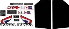 1985 85' Honda ATC 250R 13pc. ATV stickers decals graphics logos kit