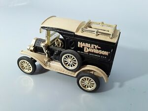 Ertl Harley-Davidson 1913 Ford Delivery Dime Bank 1/43 Scale
