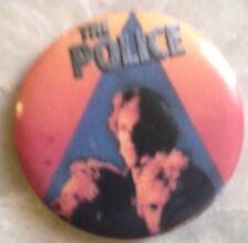 The Police-Pin1980s Zenyatta Mondatta-Vintage-RARE-EXCELLENT
