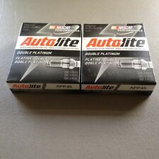 EIGHT(8) Autolite APP45 Double Platinum Spark Plug SET **$2 PP FACTORY REBATE**