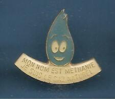 Pin's pin METHANIE GAZ NATUREL METHANE (ref 065)