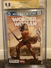 Wonder Woman #1 CGC 9.8 SS Frank Cho Liam Sharp Variant Cover