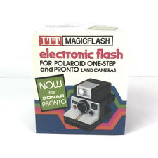 Itt Magicflash Electronic Flash Ef-211 For Polaroid Land 1 Step Pronto Cameras