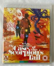 "BLU-RAY ""THE CASE OF THE SCORPION`S TAIL""  (ARROW ACADEMY)  SEALED - (ROM)"