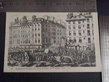CPA Supplice de Foulon, à la Place de Grève, le 23 juillet 1789