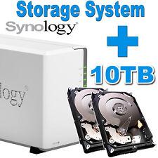 10 To (2x5tb) Synology Disk Station ds218j de stockage réseau Gigabit NAS