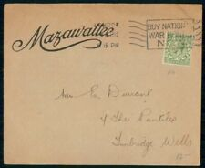 Mayfairstamps Great Britain 1918 London Buy Nations War Bonds to Turnbridge Well