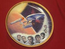 Star Trek Uss Enterprise Ncc 1701 Plate Hamilton Collection 2916 N