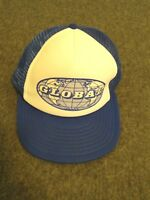 VINTAGE NOS GLOBAL MOVING COMPANY TRUCKER SNAPBACK HAT (SPORTSCAP) - ONE SIZE