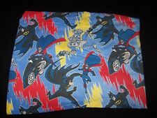 Batman & Robin Animated 1990s fitted twin bed sheet Mr Freeze DC Comics Cartoon