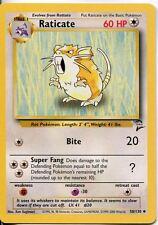 Pokemon Base Set 2 Uncommon Card #58/130 Raticate