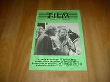 MONTHLY FILM BULLETIN   Penn Wasson & Thelen  cover Jul 82