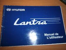 Hyundai LANTRA 1998 : notice d'entretien