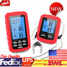 Digital Wireless Remote Dual Probes Cooking Food Meat Oven Grill BBQ Thermometer