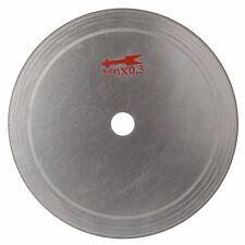 "10"" inch 250mm Super-thin Diamond Cutting Blade Disc Rim 0.55 Lapidary Saw Stone"