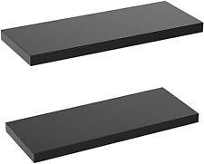 New ListingAmada - Floating Shelves Wall Mounted - Set of 2 Display Ledge Shelves