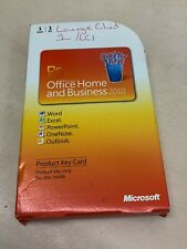 Microsoft Office 2010 Home and Business Word Excel Outlook PowerPoint