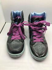LOVE PASTRY Womens Black Hi top Hip Hop Dance Shoes Size 8.5